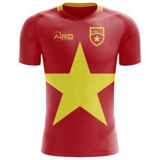 2018-2019 Vietnam Home Concept Football Shirt - Kids