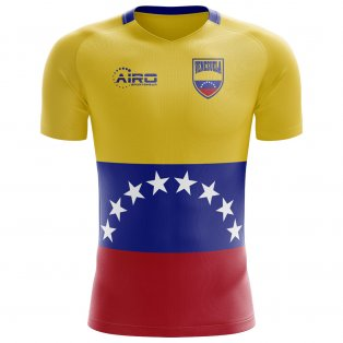 2018-2019 Venezuela Home Concept Football Shirt - Womens