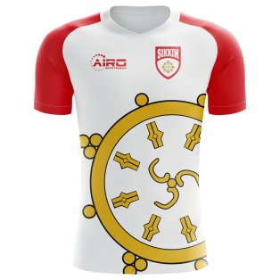 2020-2021 Sikkim Home Concept Football Shirt - Kids
