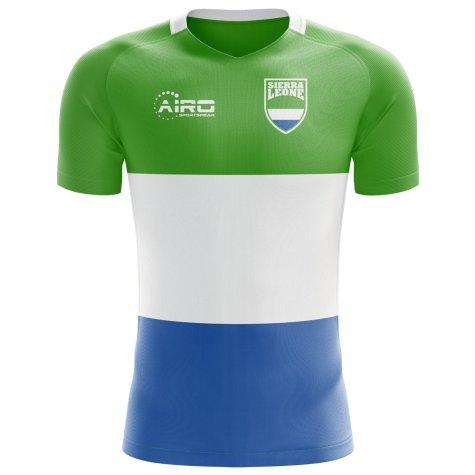 2020-2021 Sierra Leone Home Concept Football Shirt - Womens