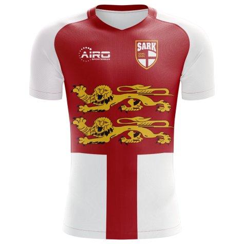 2018-2019 Sark Home Concept Football Shirt