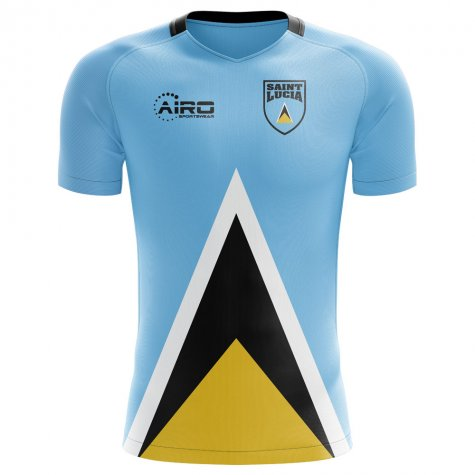 2018-2019 Saint Lucia Home Concept Football Shirt
