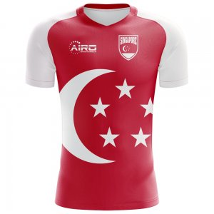 2018-2019 Singapore Home Concept Football Shirt
