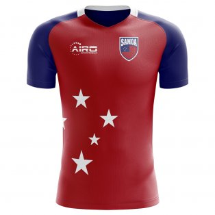 2020-2021 Samoa Home Concept Football Shirt - Kids