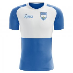 2018-2019 San Marino Home Concept Football Shirt
