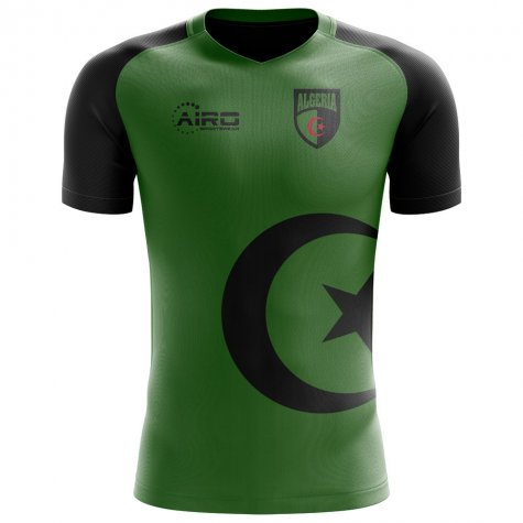 2018-2019 Algeria Flag Concept Football Shirt - Little Boys