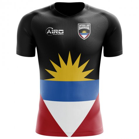 2020-2021 Antigua and Barbuda Home Concept Football Shirt - Womens