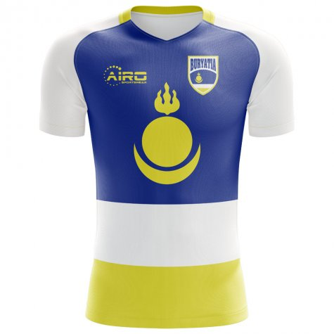 2018-2019 Buryatia Home Concept Football Shirt