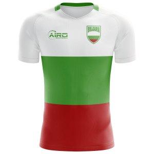 2018-2019 Bulgaria Flag Concept Football Shirt