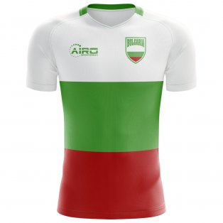 2018-2019 Bulgaria Flag Concept Football Shirt - Womens