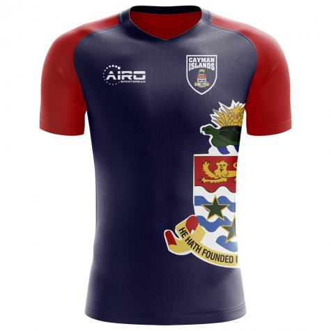 2018-2019 Cayman Islands Home Concept Football Shirt