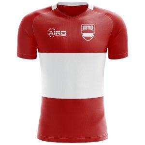 2018-2019 Austria Flag Concept Football Shirt