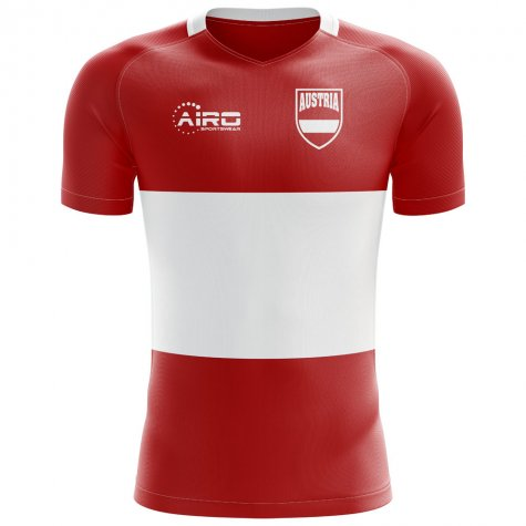 2018-2019 Austria Flag Concept Football Shirt (Kids)