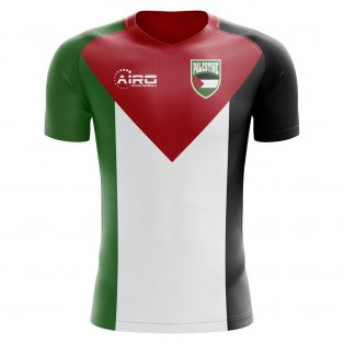 2018-2019 Palestine Home Concept Football Shirt - Womens