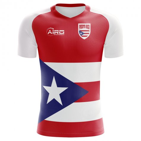 2018-2019 Puerto Rico Home Concept Football Shirt