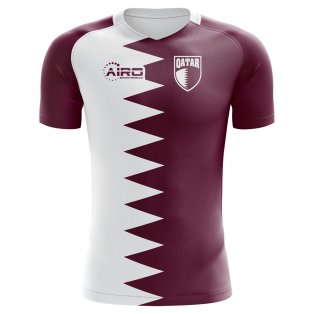 2018-2019 Qatar Home Concept Football Shirt - Kids