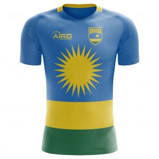2018-2019 Rwanda Home Concept Football Shirt - Kids