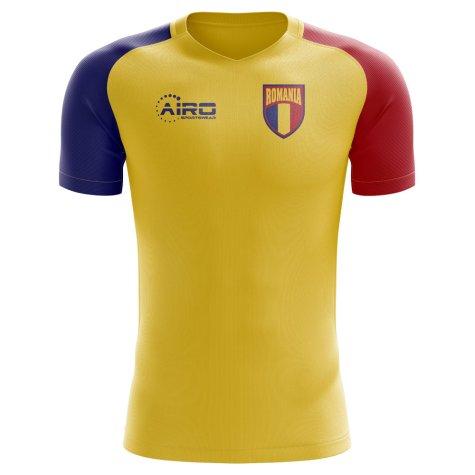 2020-2021 Romania Home Concept Football Shirt - Baby