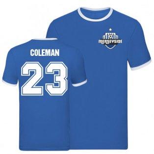 Seamus Coleman Everton Ringer Tee (Blue)