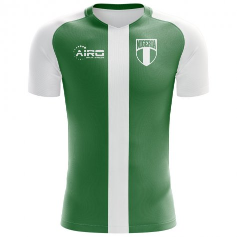 2018-2019 Nigeria Flag Home Concept Football Shirt