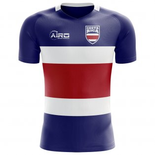 88ba20482 2018-2019 Costa Rica Flag Concept Football Shirt