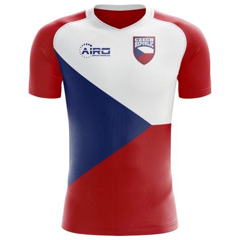 da8c97479 2018-2019 Czech Republic Home Concept Football Shirt (Kids ...
