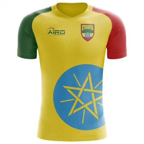 2018-2019 Ethiopia Home Concept Football Shirt
