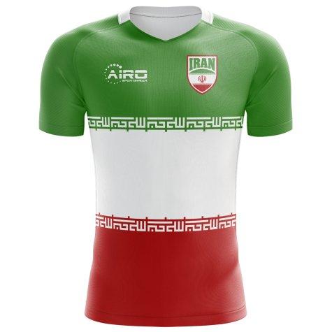2018-2019 Iran Flag Concept Football Shirt (Kids)