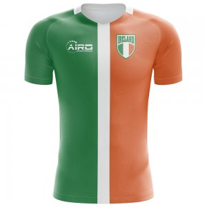 2020-2021 Ireland Flag Concept Football Shirt - Womens