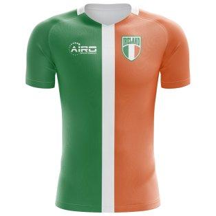 2018-2019 Ireland Flag Concept Football Shirt (Kids)