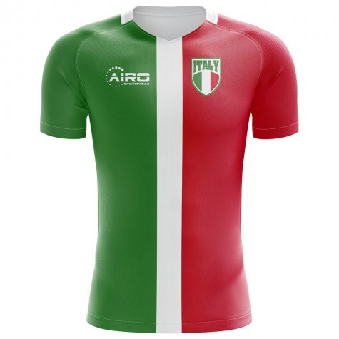 2018-2019 Italy Flag Concept Football Shirt