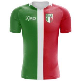 2018-2019 Italy Flag Concept Football Shirt (Kids)