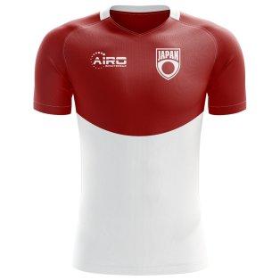 2018-2019 Japan Flag Concept Football Shirt