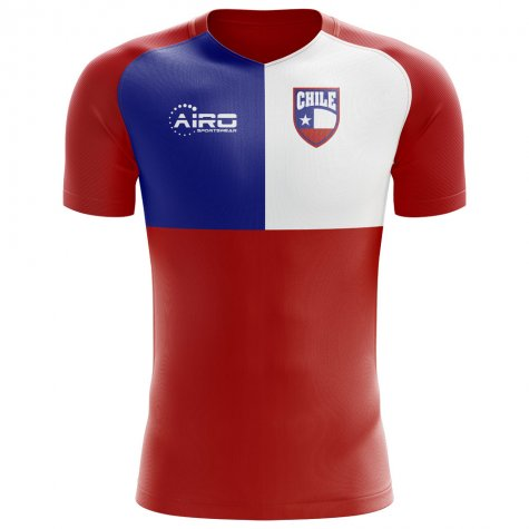 2018-2019 Chile Flag Concept Football Shirt