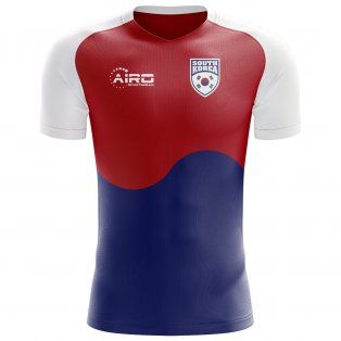 2018-2019 South Korea Flag Concept Football Shirt (Kids)