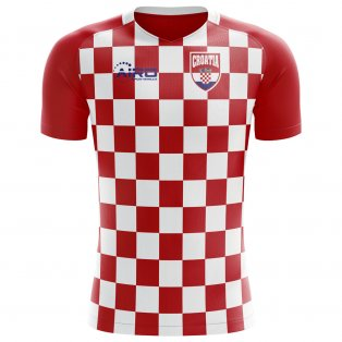 2018-2019 Croatia Flag Concept Football Shirt (Kids)