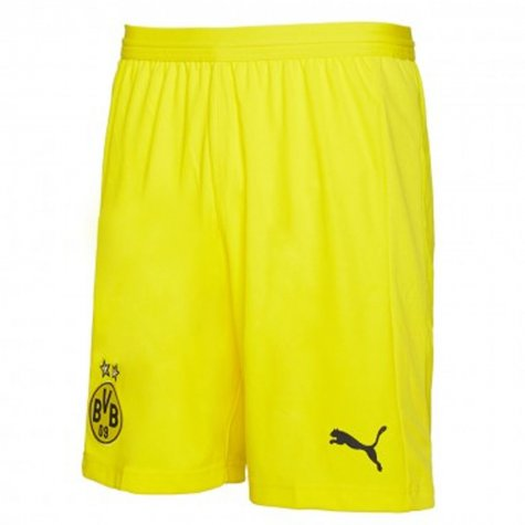 2018-2019 Borussia Dortmund Home Puma Shorts (Yellow)