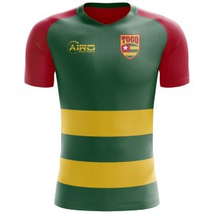 2020-2021 Togo Flag Concept Football Shirt - Baby