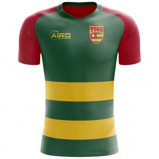 2018-2019 Togo Flag Concept Football Shirt