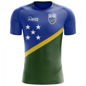 2018-2019 Solomon Islands Home Concept Football Shirt