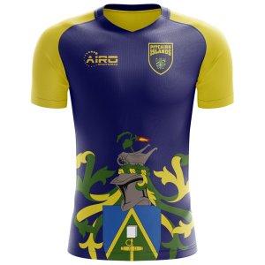 2018-2019 Pitcairn Islands Home Concept Football Shirt