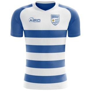2018-2019 Uruguay Flag Concept Football Shirt