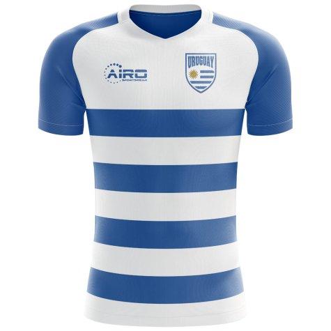 2018-2019 Uruguay Flag Concept Football Shirt (Kids)