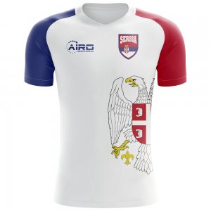 2020-2021 Serbia Flag Concept Football Shirt (Kids)