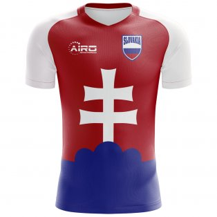 2018-2019 Slovakia Home Concept Football Shirt (Kids)