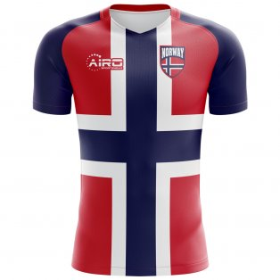 2018-2019 Norway Flag Concept Football Shirt
