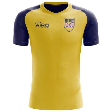 2018-2019 Niue Home Concept Football Shirt - Womens
