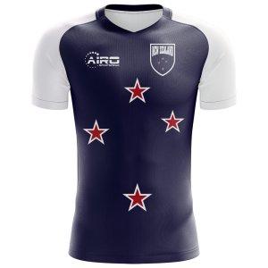 2018-2019 New Zealand Flag Concept Football Shirt (Kids)
