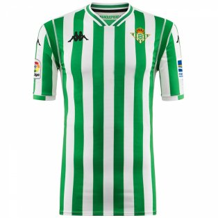2018-2019 Real Betis Kappa Home Shirt