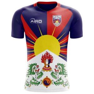 2018-2019 Tibet Home Concept Football Shirt